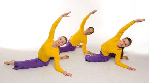 Trio Dancing